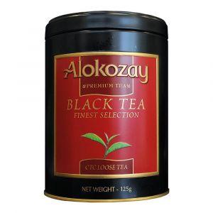 ALOKOZAY TIN TEA- CTC 125 GMS X PACK OF 24