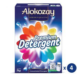 Alokozay Automatic 3kg X 4 Detergent