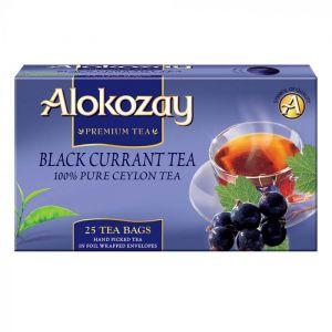 Black Currant Tea - 25 Tea Bags In Foil Wrapped Envelopes