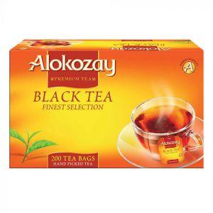 BLACK TEA - 200 TEA BAGS X PACK OF 12