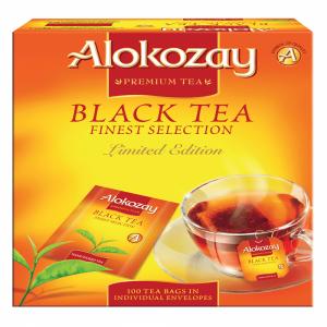 BLACK TEA - 100 PAPER ENVELOPE TEA BAGS X PACK OF 12