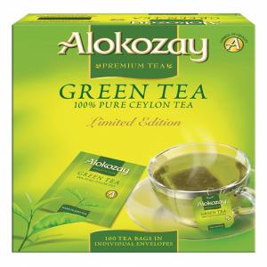GREEN TEA - 100 ENVELOPE TEA BAGS X PACK OF 12