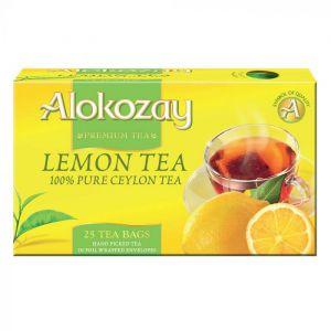 Lemon Tea - 25 Tea Bags In Foil Wrapped Envelopes