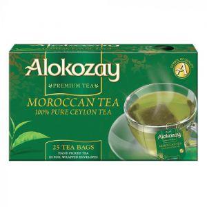 Moroccan Tea - 25 Tea Bags In Foil Wrapped Envelopes