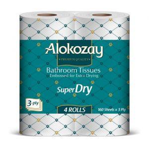 Bathroom Tissues 4 Rolls x 3 Ply