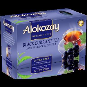 BLACKCURRANT TEA - 25 TEA BAGS