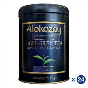 EARL GRAY TIN TEA 125GMS X 24