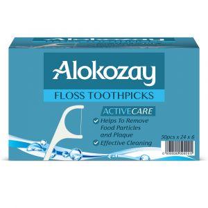 Alokozay Floss Toothpick Pack Of 144
