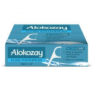 Alokozay Floss Toothpick Pack Of 24