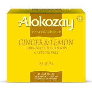 Alokozay Ginger Lemon Tea 25 Bags Pack Of 24