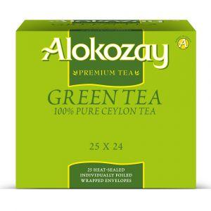 Alokozay Green tea 25 bags Pack Of 24