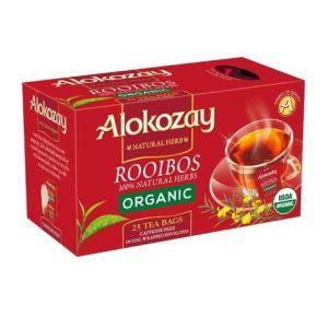 ROOIBOS ORGANIC TEA - 25 TEA BAGS
