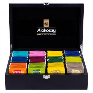 Alokozay Wooden Tea Box 12 Compartments