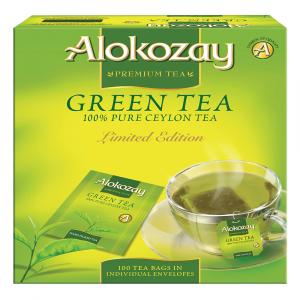 Alokozay Green Tea Paper Envelopes 100 bags