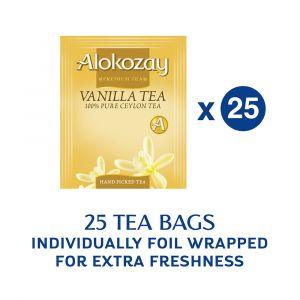 VANILLA TEA - 25 TEA BAGS