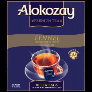 FENNEL HERB - 10 TEA BAGS