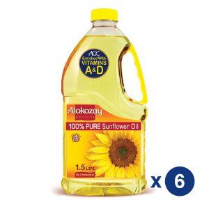 SUNFLOWER OIL 1.5L - PACK OF 6