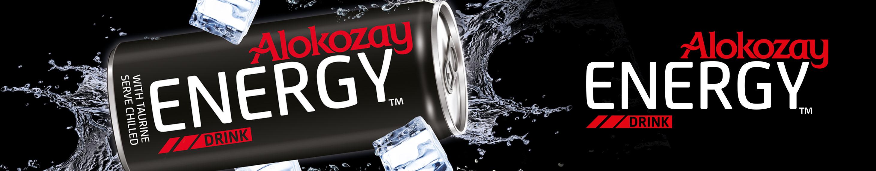 Alokozay Energy Drinks