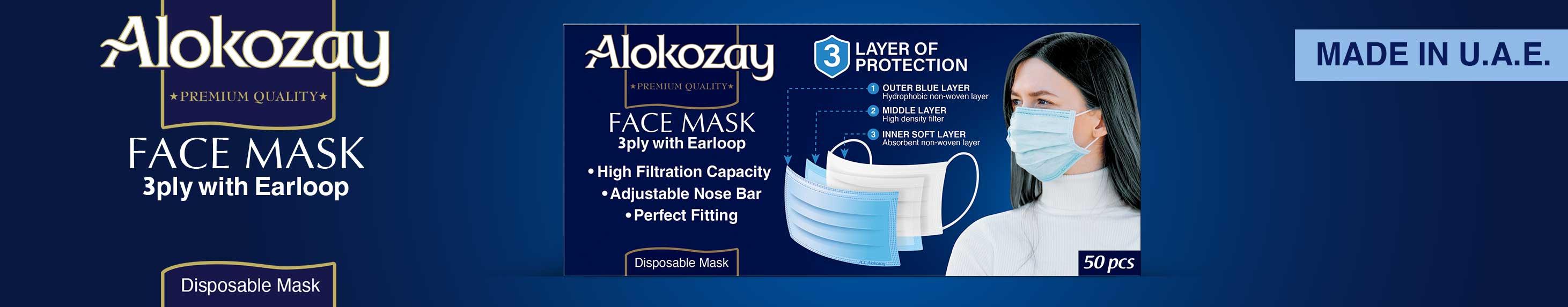 Alokozay Face Mask