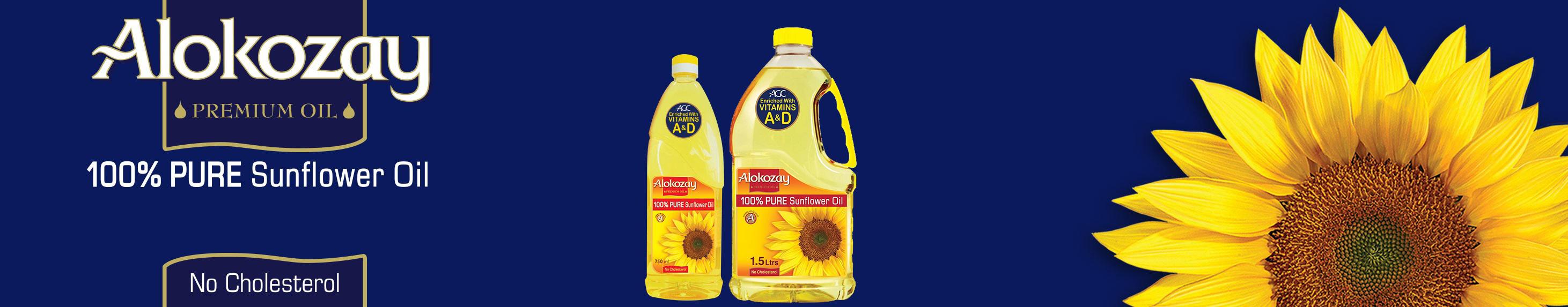 Alokozay Sunflower Oil