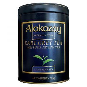 Alokozay Earl Gray Tin Tea 225gms