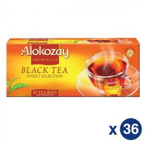 Alokozay Black Tea 25 Bags 36 Master Carton