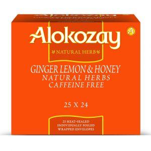 Alokozay Ginger Lemon Honey Tea 25 Bags Pack Of 24