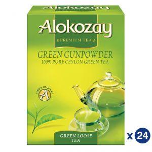 GREEN GUNPOWDER LOOSE TEA - 225GMS - PACK OF 24