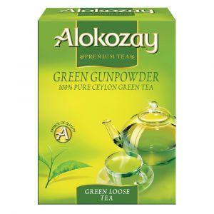 GREEN GUNPOWDER LOOSE TEA -  225GMS