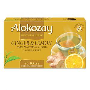 Alokozay Ginger Lemon tea 25 bags