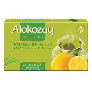 Alokozay Lemon green Tea 25 Bags