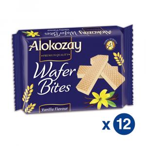 Alokozay Best Vanilla Wafer 45gms pack of 12