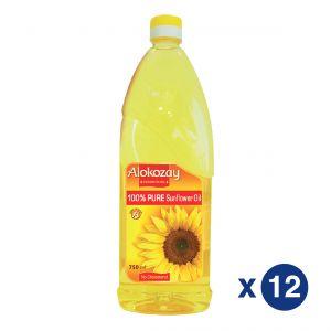 Alokozay Sunflower oil 750ml Pack Of 12